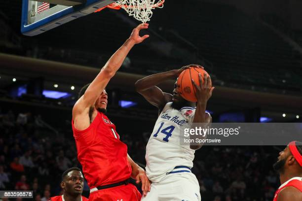 Seton Hall Pirates forward Ismael Sanogo during the second half of the Under Armour Reunion College Basketball game between the Seton Hall Pirates...
