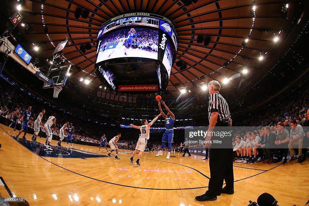 NCAA BASKETBALL: MAR 12 Big East Tournament - Villanova v Seton Hall : Fotografía de noticias