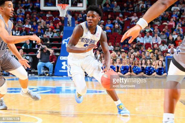 Seton Hall Pirates guard Myles Cale during the College Basketball game between the Seton Hall Pirates and the Monmouth Hawks on November 12 2017 at...