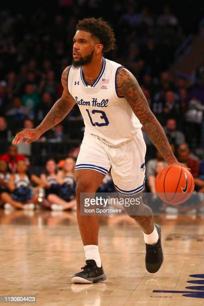 Seton Hall Pirates guard Myles Powell during the second half of the Big East Tournament quarterfinal game between the Seton Hall Pirates and the...