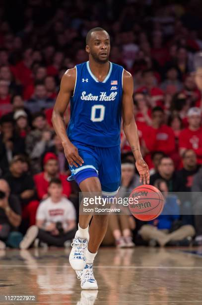 Seton Hall Pirates guard Quincy McKnight during the college basketball game between the Seton Hall Pirates and the St John's Red Storm on February...