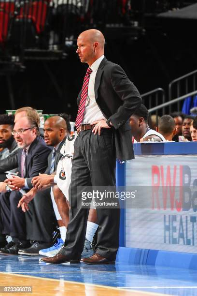 Seton Hall Pirates head coach Kevin Willard during the College Basketball game between the Seton Hall Pirates and the Monmouth Hawks on November 12...