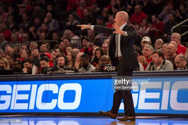 Seton Hall Pirates head coach Kevin Willard during the first half of the college basketball game between the Seton Hall Pirates and the St John's Red...