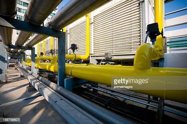 Sets aus Kühlturm in Klimaanlage systems