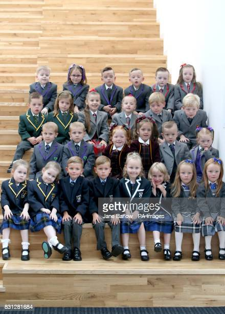 13 sets of twins Lucas and Peyton Anderson Cameron and Christopher Collins Cooper and Cora Deegan Billy and Louise Dominick Annie and Penny Donnelly...