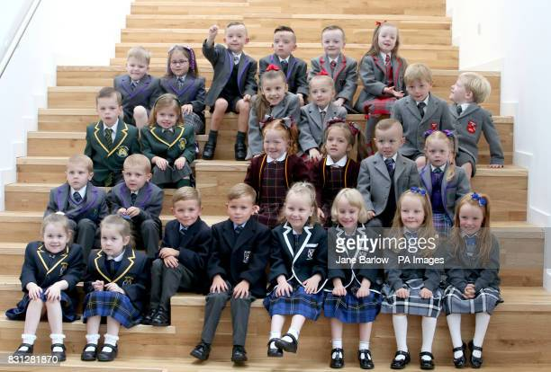 13 sets of twins Lucas and Peyton Anderson Christopher and Cameron Collins Cooper and Cora Deegan Billy and Louise Dominick Annie and Penny Donnelly...