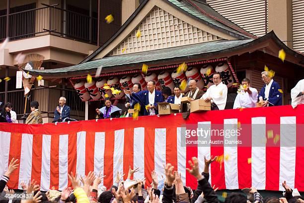節分 Kushida 神社で
