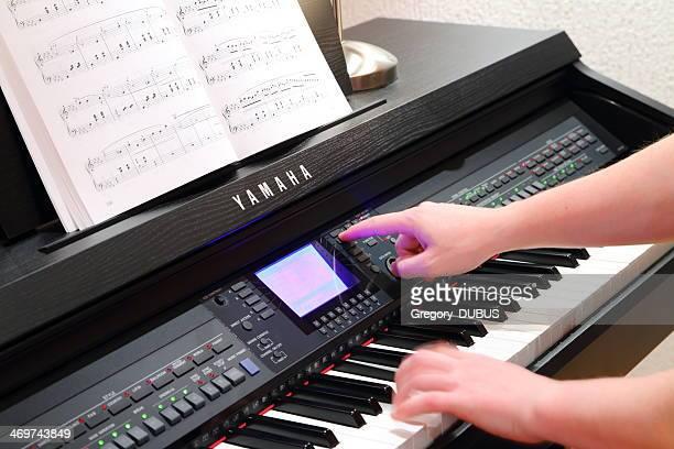 ヤマハサウンドピアノの設定