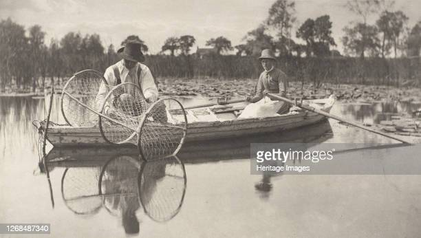 Setting the Bownet, 1886. Artist Dr Peter Henry Emerson.