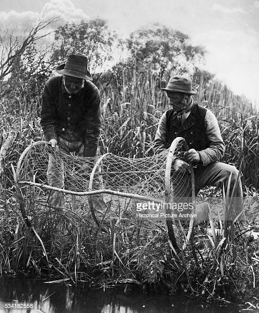 Setting Up the Bow Net by Peter Henry Emerson and Thomas Frederick Goodhall