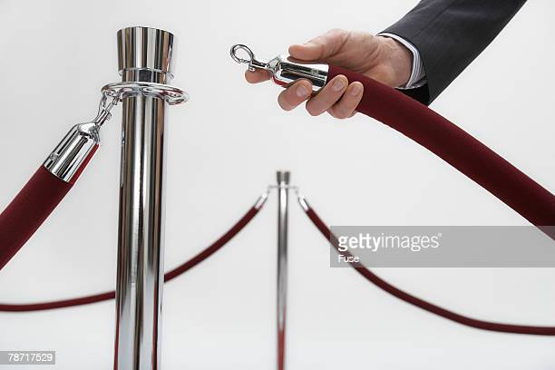setting up the red carpet - film premiere stock pictures, royalty-free photos & images