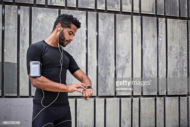 Configuración del smartwatch para correr