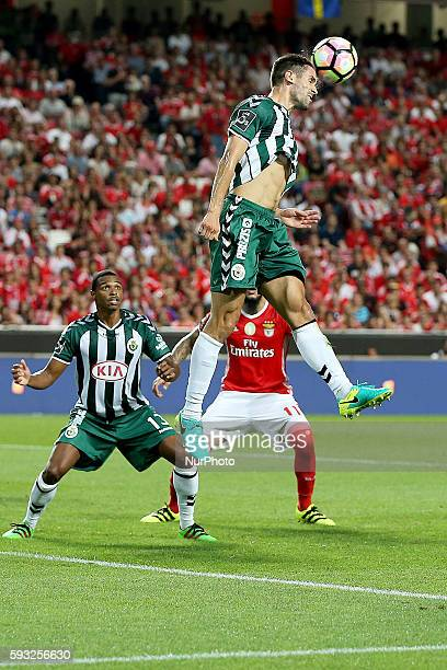 Setubal's defender Frederico Venancio during the Premier League 2016/17 match between SL Benfica v Vitoria SC at Luz Stadium in Lisbon on August 21...