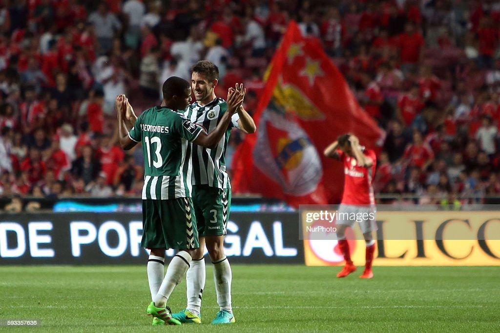 SL Benfica v Vitoria SC - Premier League 2016/17