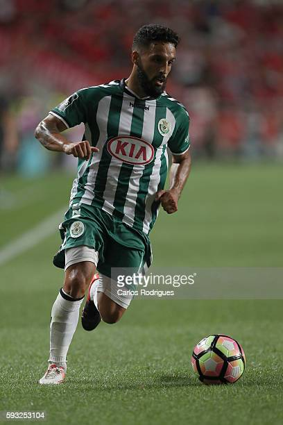 Setubal's forward Joao Costinha from Portugal during the match between SL Benfica and Vitoria Setubal FC for the Portuguese Primeira Liga at Estadio...