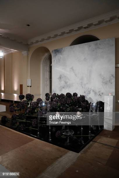 Setup Shots at the Fashion Hong Kong Presentation at Somerset House on February 16 2018 in London England