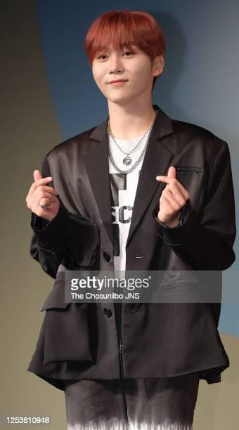 Seungkwan of SEVENTEEN during SEVENTEEN's New Mini Album 'HENGGARAE' Showcase at Intercontinental Coex on June 22, 2020 in Seoul, South Korea.