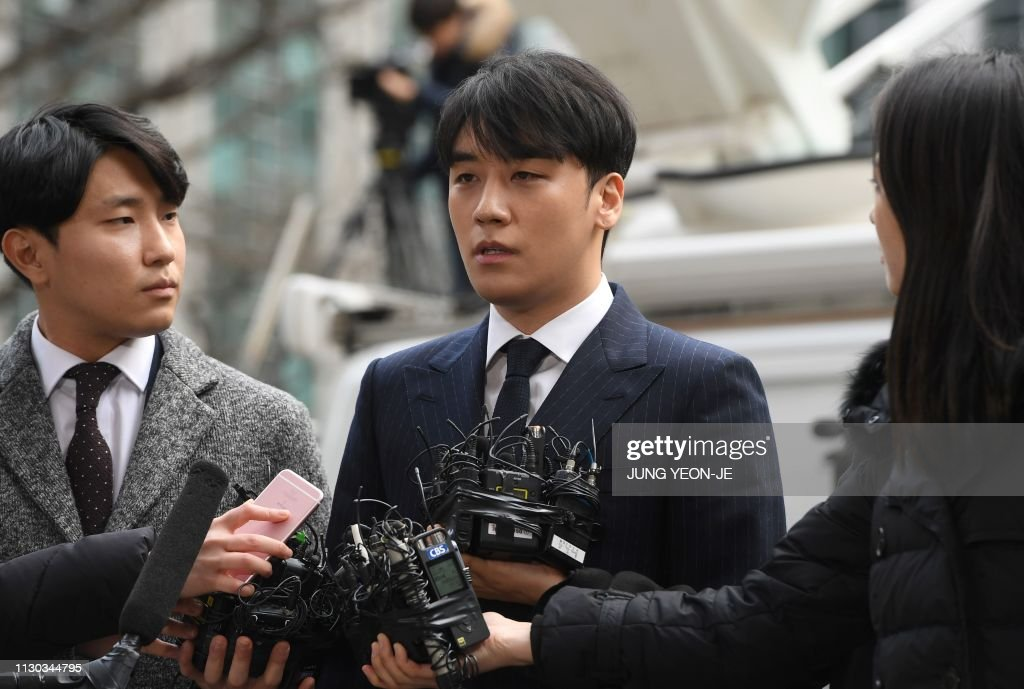SKOREA-SOCIAL-MUSIC-GENDER-CRIME : News Photo