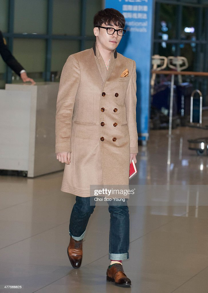 Celebrity Sighting At Incheon International Airport : News Photo
