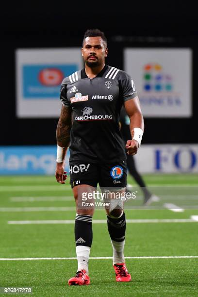 Sevanaia Galala of Brive during the French Top 14 match between Racing 92 and Brive at U Arena on March 3 2018 in Nanterre France