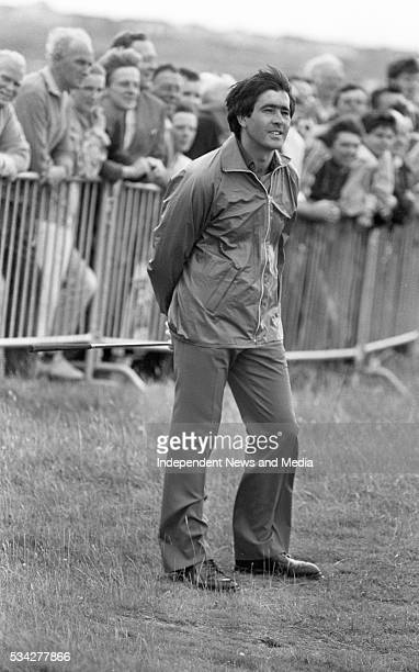 Seve Ballesteros, at Royal Dublin, taking part in the Carroll's Pro Am. Picture Liam Mulcahy 1/8/84 884-9 .
