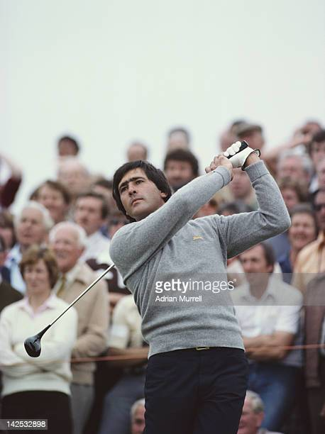 Seve Ballesteros of Spain during the 110th Open Championship on 16th July 1981 at the Royal St George's Golf Club in Sandwich United Kingdom
