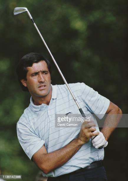 Seve Ballesteros of Spain during the Suntory World Match Play Championship on 26 September 1985 at the Wentworth Golf Club Virginia Water United...