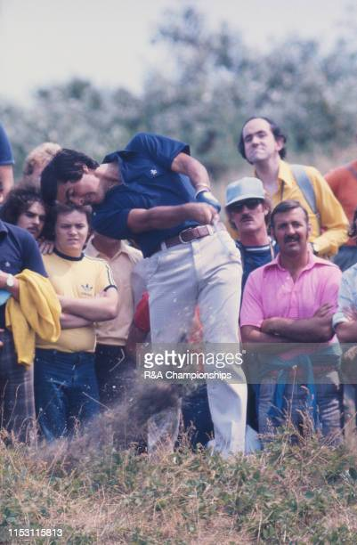 Seve Ballesteros of Spain hits from the rough during The 105th Open Championship held at Royal Birkdale Golf Club from July 7101976 in Southport...