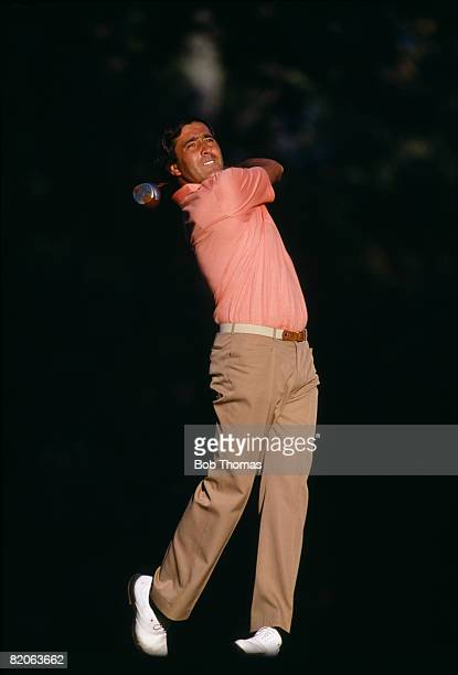 Seve Ballesteros of the European team during the Ryder Cup tournament held at Muirfield Village Ohio USA between the 25th 27th September 1987 Europe...