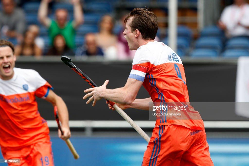 Netherlands v Belgium - FIH Rabobank Hockey Champions Trophy