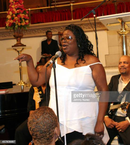 Seveda Williams Luther Vandross' Niece during 987 KISS FM's Musical Tribute To Luther Vandross at Abyssunuan Babptist Church in New York City New...