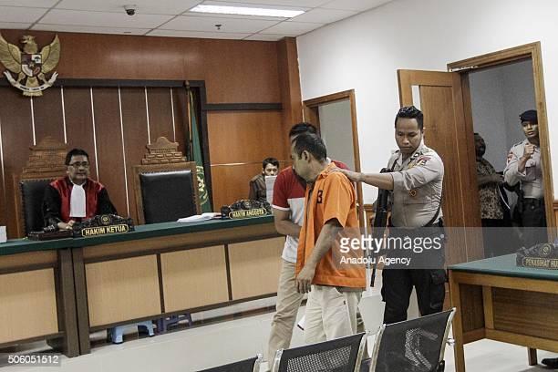 Seven defendant sympathizers Daesh terror organization Koswara alias Abu Ahmad Tuah Febriansyah Alias Muhammad Fach Helmi Euhammad Alamudi alias Abu...