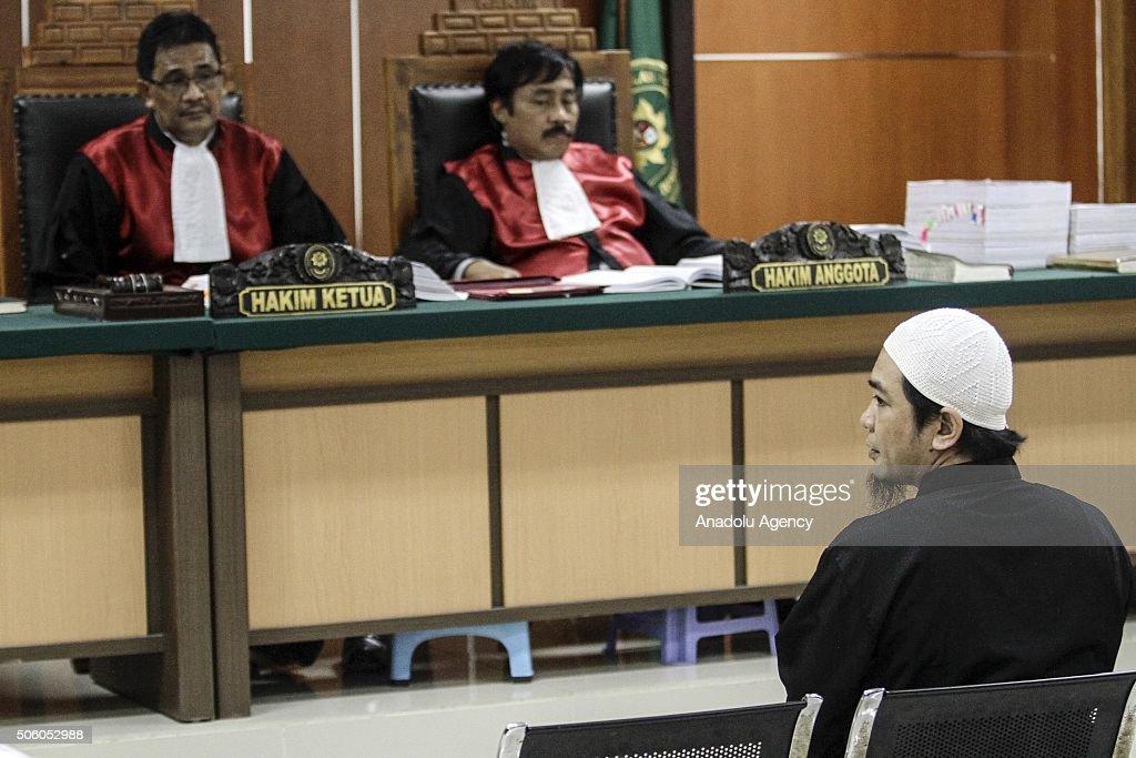 Seven Deash defendant's trials in Indonesia : News Photo
