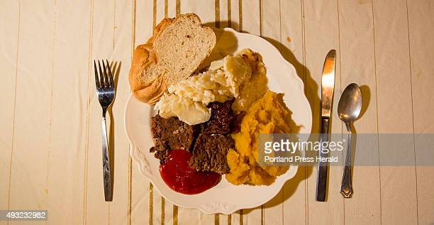 Seven dollars buys you a heaping plate of meatloaf scalloped potatoes squash homemade bread nonalcoholic drinks and dessert at the public supper at...