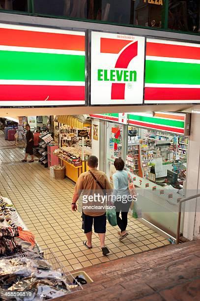 セブンイレブンの店舗、チェンマイ,タイ