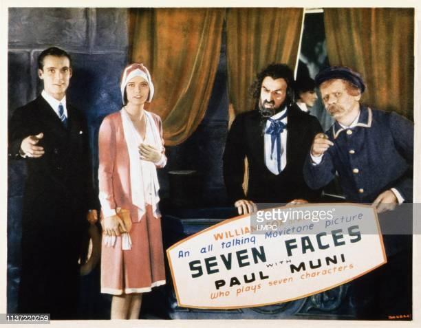 Seven Faces US lobbycard Russell Gleason Marguerite Churchill 1929