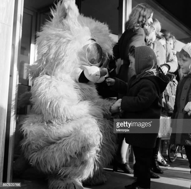 Seven foot cat on Stockton Hight Street 1971