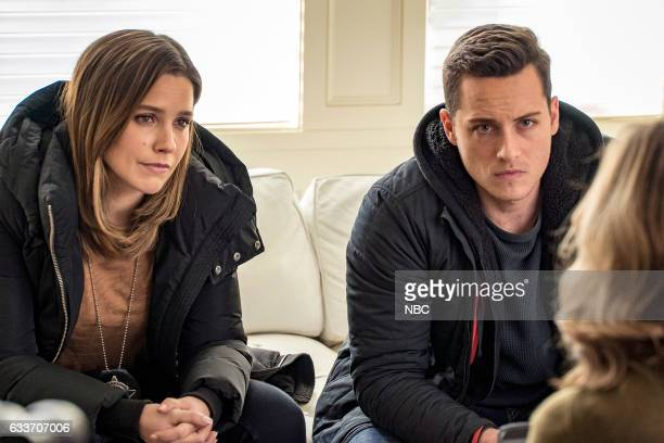 D 'Seven Indictments' Episode 414 Pictured Sophia Bush as Erin Lindsay Jesse Lee Soffer as Jay Halstead