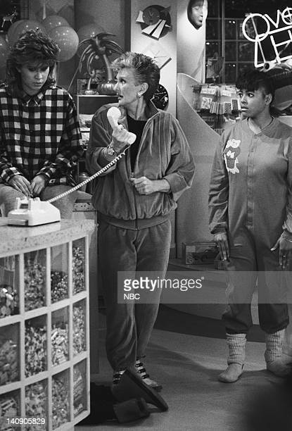 LIFE Seven Little Indians Episode 12 Aired 1/3/87 Pictured Nancy McKeon as Joanna 'Jo' Marie Polniaczek Bonner Cloris Leachman as Beverly Ann Stickle...