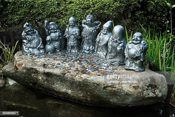 CONTENT] Seven lucky gods Daishoin Temple Miyajima Hiroshima Japan