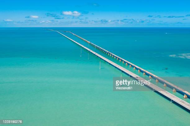 seven mile bridge, florida keys, usa - gulf coast states stock pictures, royalty-free photos & images