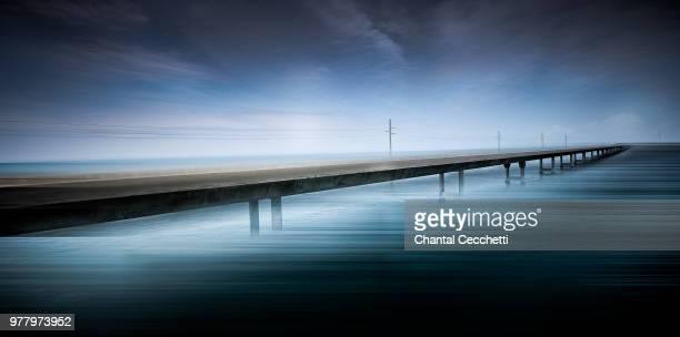 seven mile bridge, florida, usa - seven mile bridge stock pictures, royalty-free photos & images