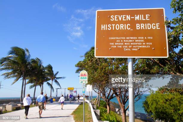 Seven Mile Historic Bridge sign