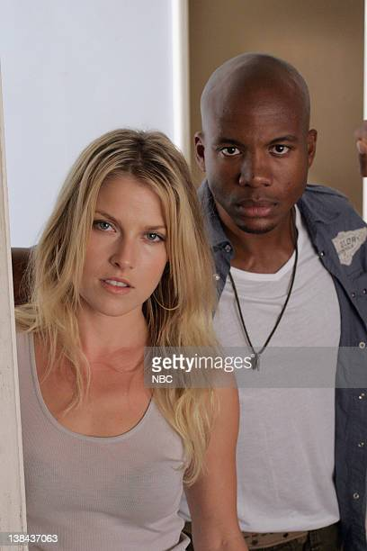 HEROES 'Seven Minutes to Midnight' Episode 8 Aired 11/13/06 Pictured Ali Larter as Niki Sanders Leonard Roberts as DL Hawkins