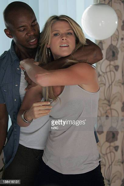 HEROES 'Seven Minutes to Midnight' Episode 8 Aired 11/13/06 Pictured Leonard Roberts as DL Hawkins Ali Larter as Niki Sanders