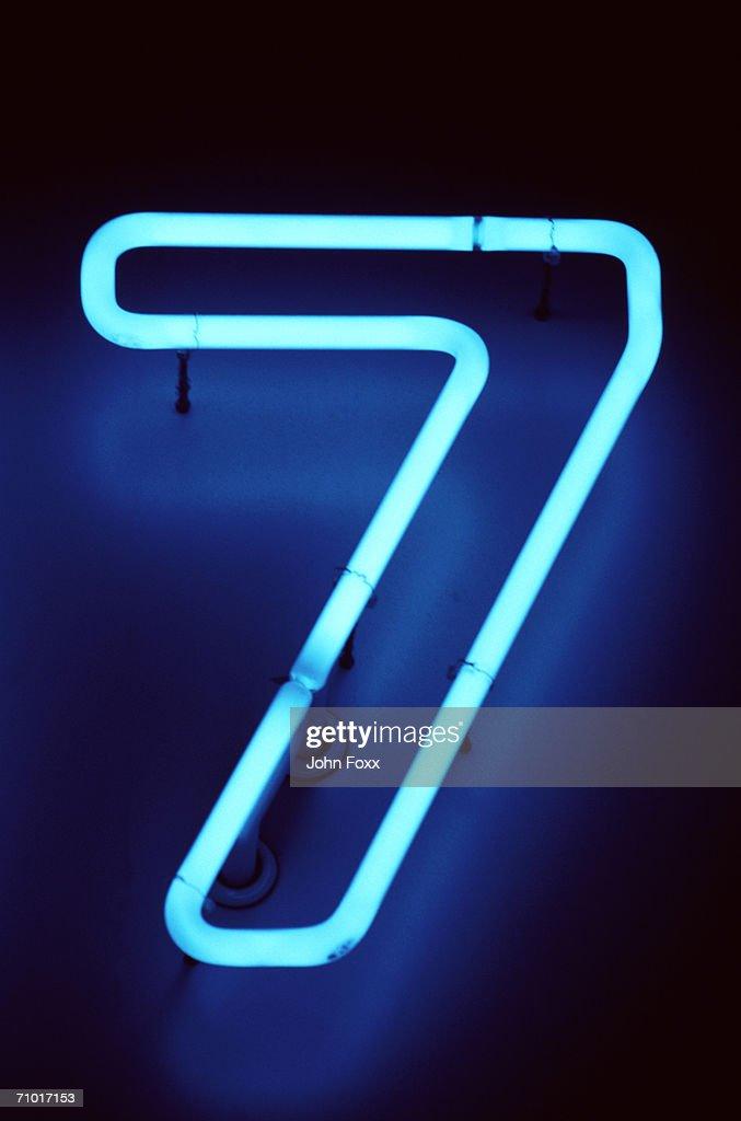 seven : Stock Photo