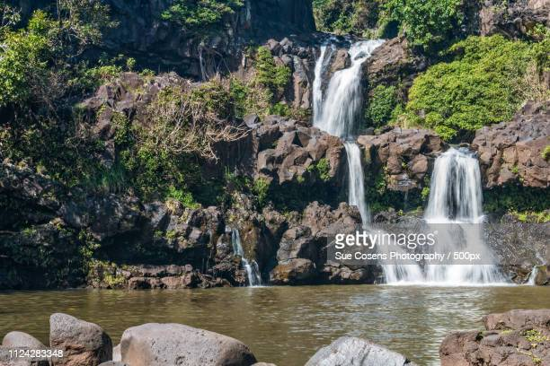 seven sacred pools - hannah brooks stock photos and pictures