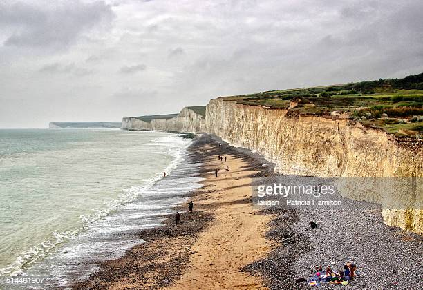 Seven Sisters chalk cliffs, from Birling Gap