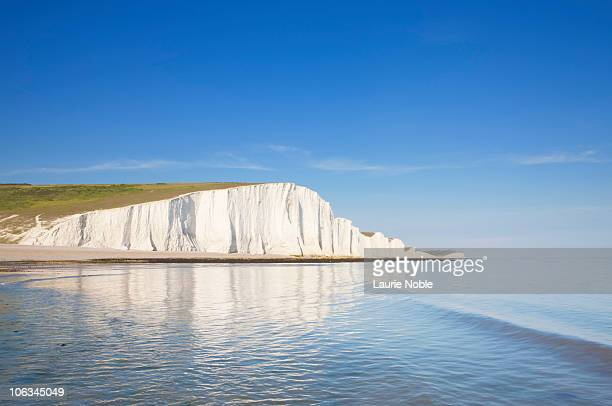 seven sisters; east sussex; england, great britain - seven sisters cliffs stock photos and pictures