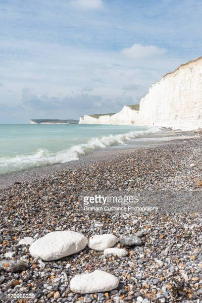 seven sisters - cliff stock pictures, royalty-free photos & images